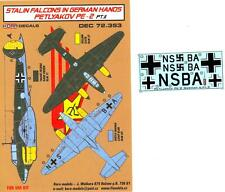 KORA Decals 1/72 PETLYAKOV Pe-2 STALIN'S FALCONS IN GERMAN HANDS Part 2