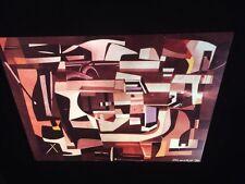 "Ad Reinhardt ""Collage 1939"" Hard Edge 35mm Art Slide"