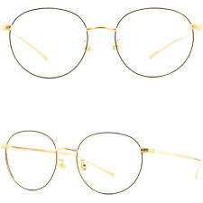 Super Light Women Titanium Frame Metal Prescription Glasses Eyeglass Gold Black