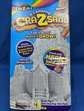 Amazing Cra-Z-Sand - 1.5 lb Box of Sandtastic Sand, White, Shape, Mold, Play