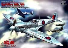 SPITFIRE (HF) Mk VII (131ST & 124TH SQADRONS RAF) 1/48 ICM RARE!