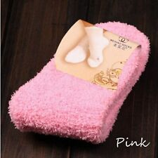 Cute Soft Thick Warm 10 Candy Colors Floor Socks Slipper Socks Fuzzy Hosiery