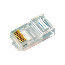 MX 100 Pcs of RJ45 Plug Cat5e 8P8C Lan Connector Network CAT5E - MX 2245A