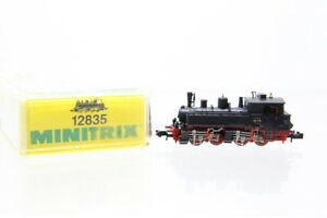 N Minitrix 12835 DRG 98 719 Dampflok Tenderlok analog OVP/J23