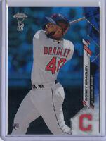 2020 Topps Chrome Ben Baller BOBBY BRADLEY BLUE Refractor /75 Cleveland Indians