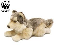 WWF Plüschtier Wolf (25cm) Kuscheltier 2 Varianten Raubtier Lebensecht Stofftier