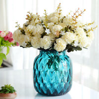 10Heads Hydrangea Artificial Flower Wedding Arrangement Home Decoration European