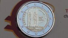 2 euro 2018 Andorra Andorre андорра 25 Constitucio Costituzione 安道尔 Andora