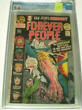 Forever People  #9  CGC 9.4 Jack Kirby