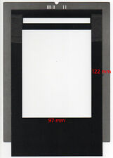 Film holder for Imacon Flextight scanners, 97x122mm, scan 4''x5'' & Polaroid 55.