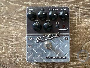 Tech 21 Sans Amp, U.S Steel, (Mesa Boogie), USA, Guitar Effect Pedal