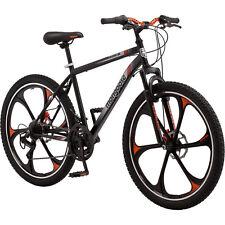 """26"""" Men's Mongoose Mack Mag Wheel Bike, Black and Orange Free Shipping"""