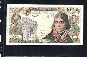 Billet 10000 Francs Bonaparte 05/06/58 TTB Fay 51-12