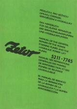 Zetor 5211 5245 6211 6245 7211 7245 7711 7745 Reparatur
