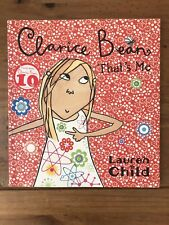 Clarice Bean, That's Me by Lauren Child (Paperback / softback)