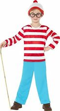 Children's Where's Wally Fancy Medium Size Costume by Smiffys 38793