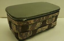 Longaberger 2013 Camo Caddy Basket Combo Army Green New Retired