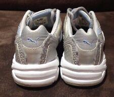 PUMA girls silver shoes size 1 UK