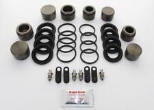 for MITSUBISHI EVO 7 8 9 FRONT L & R Brake Caliper Repair Kit +Pistons (BRKP317)
