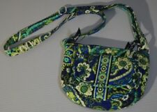 Vera Bradley Quilted Purse Handbag Sachet Blue and Teal Paisley