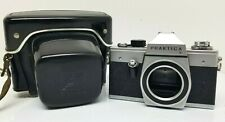 PRAKTICA L 35mm Film Camera Body Tested Working w/ patent Leather Case