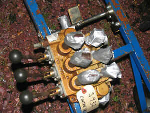 Prince  Hydraulic 3 Spool Valve Tractor IH John Deere Allis Ford Case