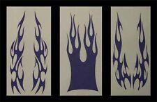 Airbrush Schablonen Set Flammen 2