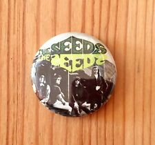 THE SEEDS (BAND) / SKY SAXON - BUTTON PIN BADGE (25mm)