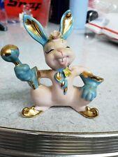 Vintage Bunny Easter Figurine wr rare