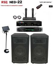 Complete Professional Karaoke System RSQ Neo 22 Player Digital Machine equipment