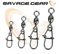 Savage Gear Egg Egg-Snap Fishing 10pcs Snap with Swivel Lures Spinners Jig Heads