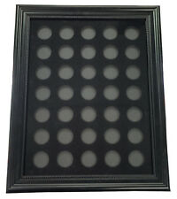 Chip Insert 35 Casino Chips Display Board with Frame 12x16 HOLDS 35 CHIPS *