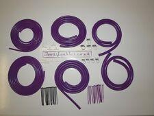 Boostjunkies MEGA Vacuum Hose Engine Dress Up Kit in Purple