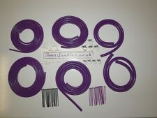 Mega Manguera de vacío motor Dress Up Kit en púrpura-Horizonte GTST/Gtr, Silvia