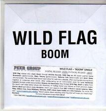 (CU320) Wild Flag, Boom - 2011 DJ CD