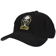 ROB ZOMBIE Embroidered BASEBALL CAP Ball Hat ROBOT HEAD White DEVILS REJECTS New