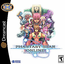 Phantasy Star Online (Sega Dreamcast, 2001)