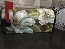 Magnetic Mailbox Cover (Magnolias) Flagtrends by Carson. W/Faceplate