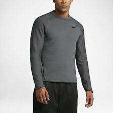 Nike dri-fit Therma Sphere Max Men'S Long Sleeve Charcoal Large Nwt 800225-071
