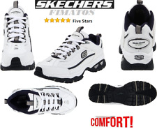 76f47e5c8ed1a Skechers Extra Wide (EE+) Solid Slip Resistant Shoes for Men