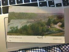 Road To Piper's Dam  GODERICH ONTARIO Postcard  Posted 1906