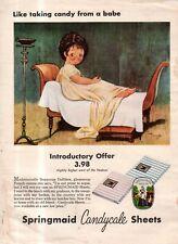 1955 Grace Drayton Rare Springmaid sheet ad