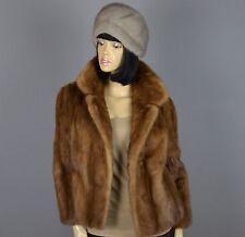 Nerzjacke Damen Pelz Jacke Jacket,Braun норки Gr.:36-38   (N149)