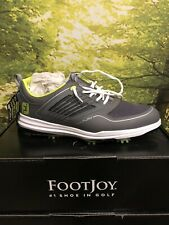 FootJoy Fury Golf Shoes Grey/Lime - 51102 Size 9.5 NEW IN BOX