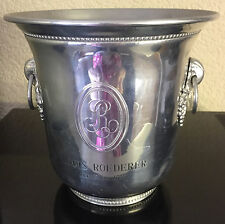 LOUIS ROEDERER CHAMPAGNE COOLER VERY RARE TO FIND RING HANDLE VINTAGE USED NO 2