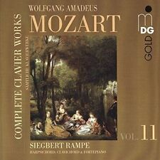 Complete Clavierworks 11 by Mozart CD 760623131122