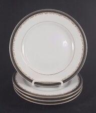 "Christopher Stuart UNIVERSITY BLACK - Salad Plates 7 5/8"" Set of 4"