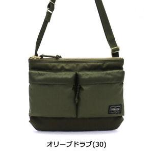 YOSHIDA BAG PORTER FORCE SHOULDER BAG 855-05458 Navy Black Olive drab NEW Japan