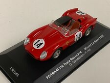1/43 IXO Ferrari 250TR car #21 Winner of the 1958 24 Hours of LeMans LM1958 D198