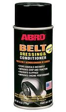 ABRO BELT DRESSING AND CONDITIONER 170g EXTENDS LIFE OF ALL DRIVE BELTS NO NOISE